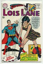 DC (1958 SERIES) SUPERMAN'S GIRLFRIEND LOIS LANE #80 - VF 8.0 HIGH GRADE