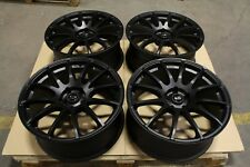 "Rota PWR 19"" Alloys Audi A3 A4 TT SEAT Leon Cupra VW Caddy Golf 5-7 R 5x112 Set2"
