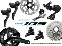 New 2019 Shimano 105 R7000 R7020 Hydraulic Disc Brake Groupset 170/172.5/175mm