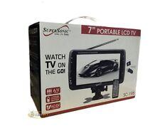 "Supersonic SC-195 7"" Portable LCD TV with Digital Tuner/USB/SD/MMC/AV IN"