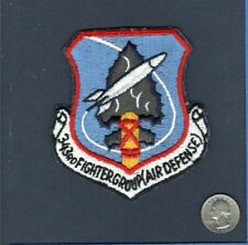 343rd FG Fighter Group AIR DEFENSE USAF F-89 F-102 F-106 Squadron Patch