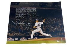 Mariano Rivera Signed 2009 World Series Save 'Story' 16x20 Authentic Steiner COA