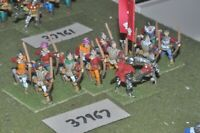 25mm medieval / english - wars of roses archers 12 figures - inf (37967)