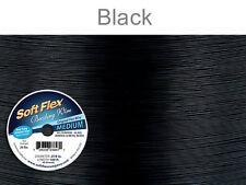 Soft Flex Beading Wire, Black, .019 Inch, 100 Feet | BDC-420.23