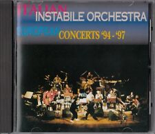Italian instabile Orchestra European Concerts 94-97 CD
