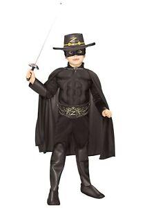 Kids Deluxe Zorro Costume