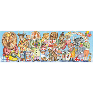 Djeco King's Party Gallery Puzzle Jigsaw | Beautiful Jigsaw Puzzle & Poster