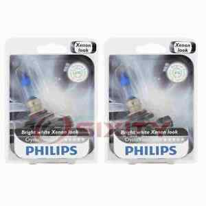 2 pc Philips Front Fog Light Bulbs for Saturn Astra 2008-2009 Electrical yd
