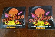 Xxxplosion pills.  2 package one pill in each bag.