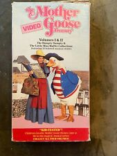 THE MOTHER GOOSE TREASURY: VOLUMES I & II, VHS, SING ALONG, KIDS STORIES, 1991