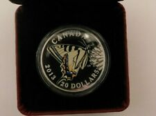 2013 Canadian $20 1oz silver coin the Canadian Tiger Swallowtail