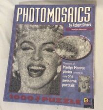 Photomosaics Puzzle. Marilyn Monroe, by Robert Silvers. 1000+ pieces