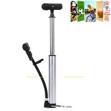 Mini Bike Hand Pump Air Portable Inflator For Bicycle Tire Ball Tyre Cycling New