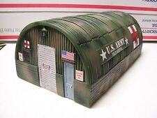 Menards O Gauge Military Army Field Hospital Quonset Hut w/2 LED Lights! - NIB