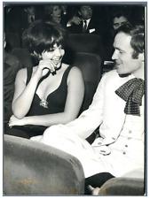 Tina Marquand à l'Olympia  Vintage silver print Tirage argentique  13x1