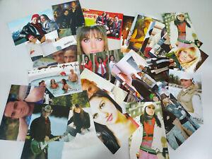 RBD Rebelde lote de 34 postales fotos del grupo Miguel Giovanni Roberta - 2T