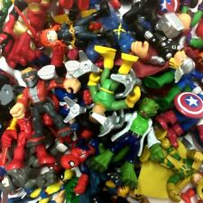 Random Lot 10PCS PlaySkool Heroes Marvel Super Hero Squad Collect Figure kid toy