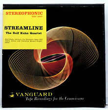 VANGUARD VRT-3007 1956 7.5 ips 2-track stereo reel ROLF KUHN QUARTET STREAMLINE