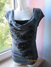 Figurbetonte Damenblusen,-Tops & -Shirts mit Wasserfall für Party