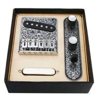 Prewired Tuning Telecaster Bridge Platte für Telecaster Gitarren Teile