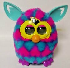 Rare Furby Boom - Hasbro Pastel Blue and Pink Heart Tested Works Great Authentic