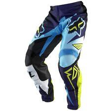 FOX COSTA MOTOCROSS PANTS#28 NEW BLUE suit youth/ teen Motorcross Dirt Bike BMX