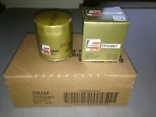 SIX(6) Fram Pro Synthetic FPS4967 Oil Filter CASE fits XG4967 10-2840 M1-103A