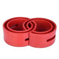 2Pcs Red TPE Car Rubber Shock Absorber Spring Bumper Buffer Power Cushion Type B