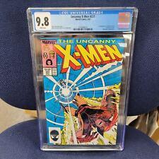 Uncanny X-Men 221 CGC 9.8 NM/MT! 1st appearance of Mr Sinister! Marvel 1987!