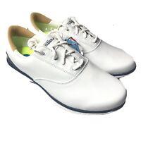 Skechers Go Golf LDS Shoes White Blue Waterproof Women's 10 New