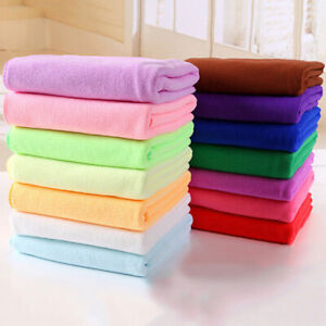 CW_ Microfibre Travel Gym Camping Sport Fast Drying Absorbent Cleaning Towel Sal