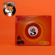 100 Pcs Sunlight 33MM Hookah Coal Quick Lite Shisha Charcoal Incense 1 Box