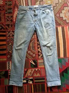 Pull And Bear Light Blue Denim Jeans 32 Inch Waist