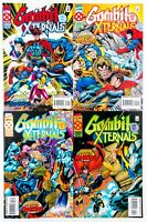 Gambit and the X-ternals #1-4 (1992 Marvel) Age of Apocalypse (X-Men) NM