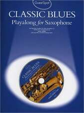 Alt Saxophon Noten - CLASSIC BLUES - mit Playback-CD  - 10 big blues numbers