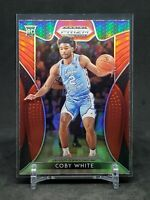 2019-20 Prizm Draft Picks Coby White RC, Rookie Red Refractor, Bulls