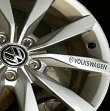 8x VOLKSWAGEN VW Rims Alloy Wheels Decal Stickers Polo Golf Scirocco Up Gti R