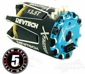 "Team Trinity ""X Factor"" Team ROAR Spec Brushless Motor (13.5T) (TRIREV1101T)"