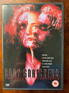 Bodysnatchers DVD 1993 Abel Ferrara Alien Invasion Continues Horror Movie Remake