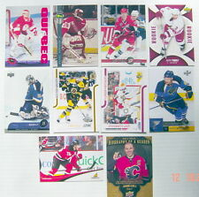 1992-2012'S LOT OF 10 HOCKEY CARDS