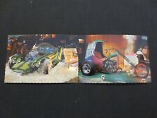 "Lot of 2 Vintage Ed ""Big Daddy"" Roth Postcards Mail Box and Beatnik Cars (1967)"