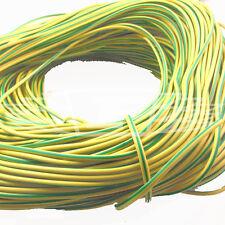2 mm x 100 mètres de PVC électrique denture, terre jaune / vert unité de consommation
