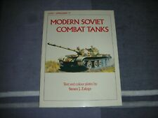 OSPREY VANGUARD 37  MODERN SOVIET COMBAT TANKS par Steve Zaloga