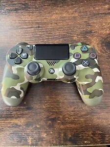 Sony Playstation PS4 DualShock 4 V2 Wireless Controller - Green Camo