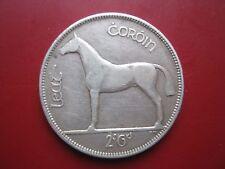 Irish Ireland EIRE 1928 Silver Half Crown coin in good grade
