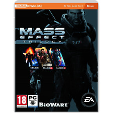 Pc Game Mass Effect Trilogy with Part 1+2+3 ( No Data Carrier Included) New