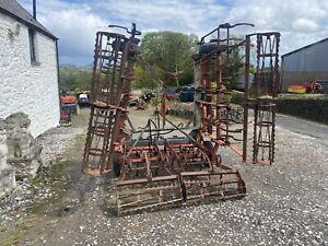 Kongskilde Triple K Vibromaster 6M Springtyne Leveler Roller Tractor Mounted