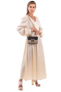 RRP €1430 GUCCI PADLOCK Flap Shoulder Bag Contrast Leather GG Logo Chain Strap