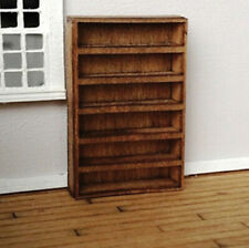 Dollhouse Cassin Wide Bookcase Kit 1:48 Scale