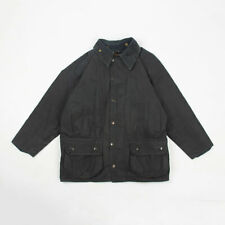 Vintage Barbour A155 Beaufort waxed jacket with lining M 40 NAVY
